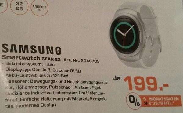 [Saturn][lokal][Nürnberg] Samsung Gear S2 für nur 199€ anstatt 279,90€