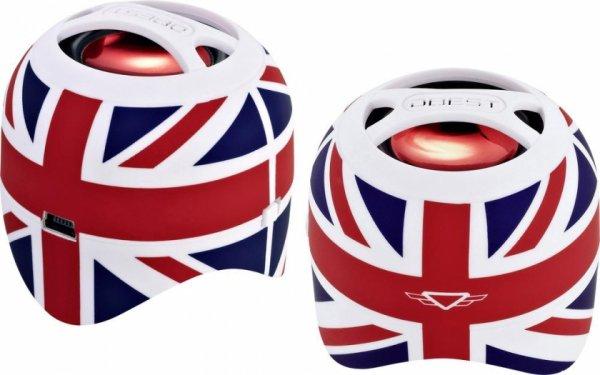 Was für echte Briten: DBEST Duo Bluetooth Stereo Lautsprecher 14,99 @voelkner
