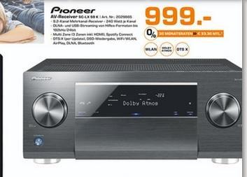 [Saturn Hamburg + Norderstedt] Pioneer AV-Receiver SC-LX 59K mit Dolby Atmos + DTS:X