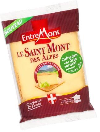 """[BUNDESWEIT] EntreMont """"Le Saint Mont des Alpes 200g"""" Geld-Zurück-Garantie bis 30.06.2016"""