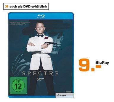 [Lokal] Saturn Nürnberg: James Bond Spectre BluRay € 9,-