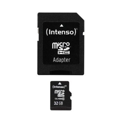 [Amazon Prime] Intenso microSDHC card 32 GB class 10 für 6,99€ bei amazon.de 22% Ersparnis
