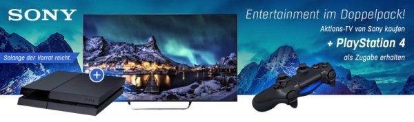 [redcoon] Zu ausgewählten Sony TVs eine PS4 gratis erhalten!