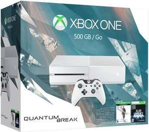 "[Microsoft] Xbox One ""Quantum Break Bundle"" (XBO 500GB 2015 in weiß + Quantum Break (XBO) + Quantum Break (PC) + Alan Wake) für 324,16€"