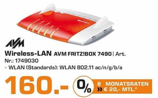 [Lokal Saturn Bochum und Hattingen] AVM FRITZ!Box 7490