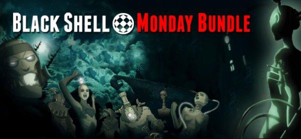 [Steam] BLACK SHELL MONDAY BUNDLE (bis zu 10 Spiele, 1 Soundtrack, teilweise mit Sammelkarten) ab 0,92€ @ indiegala
