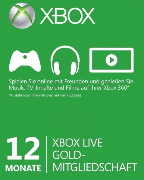 [Ebay] Xbox Live 12 Monate - Preisvorschlag