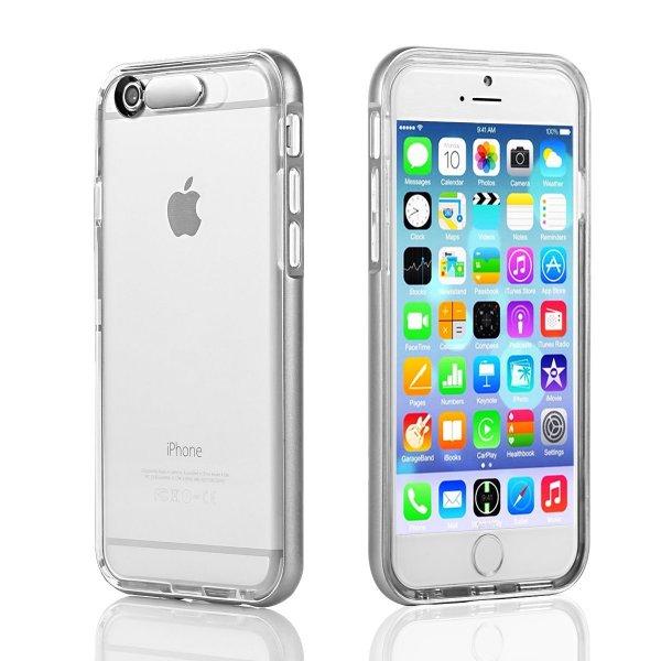 @Amazon: iPhone 6/6s (4,7 Zoll) TPU Schutzhülle mit Bumper Blitz Hülle von EC Technology für 0,99€ als Plus Produkt