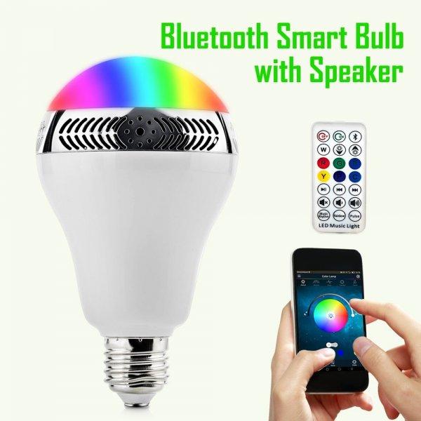 [Amazon] Multi-Color-Energiesparlampe, E27 mit Bluetooth Lautsprecher für 20.99€ inkl. Versand