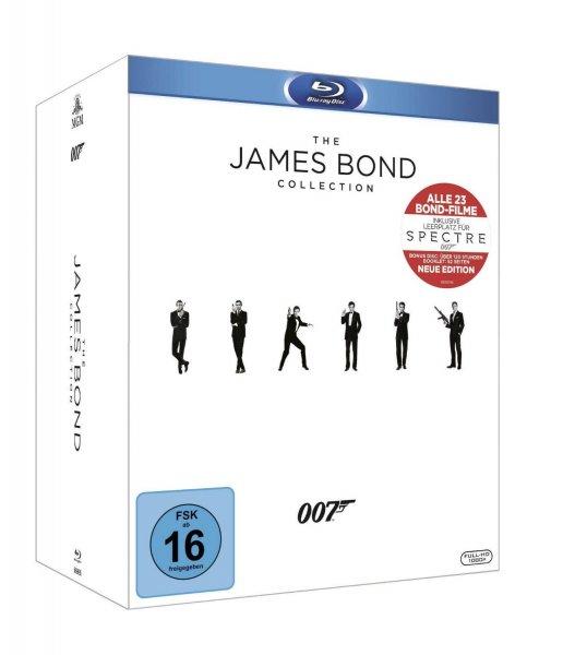 (Amazon) The James Bond Collection: Alle 23 Filme inkl. Leerplatz für Spectre (24 Discs) [Blu-ray] für 94,97 EUR