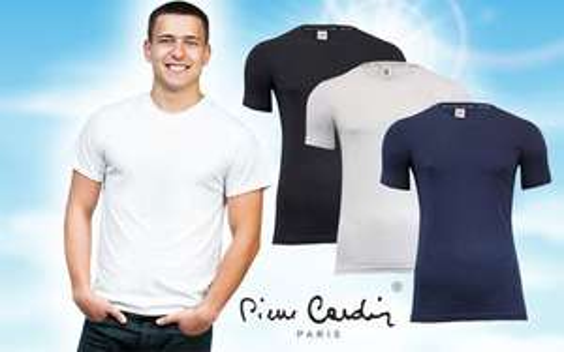 2er Pack Pierre Cardin T-Shirt - Baumwolle