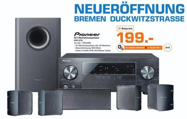 [Local/Bremen] Pioneer HTP-072 Heimkino System inkl. AV Receiver - Saturn Eröffnungsangebot
