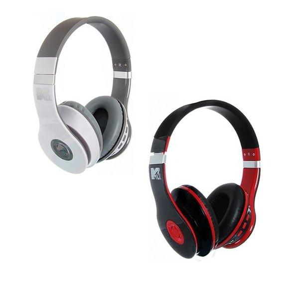 [3% Qipu] 2er Pack MTV Bluetooth headphones (2x rot, 1x weiß/1x rot, 1x schwarz/1x rot) für 29,95€ frei Haus @Dealclub