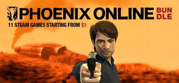 [Steam] Phoenix Online Bundle (bis zu 11 Spiele, davon 9 mit Sammelkarten) ab 0,92€ @ indiegala