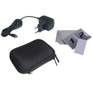 Navi Tasche + Ladegerät + Display Schutzfolien für 50 Cent bei Redcoon