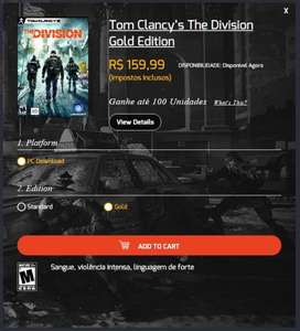 "Tom Clancy's - The Division ""Gold Edition"" [PC] ~40€"