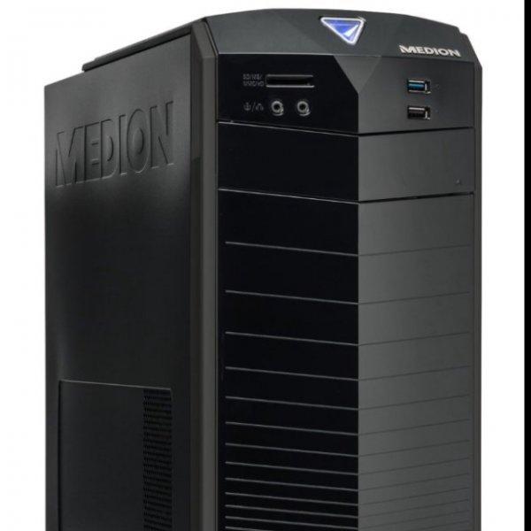 PC MEDION AKOYA E2216 DR F274 ML PC-System, Intel Core i3-4160, 3,6GHz, 4GB RAM, 1TB HDD, NVIDIA GeForce GTX 750TI, Windows 10, schwarz (Medion/B-Ware, Amazon)