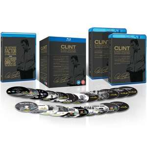 [Zavvi] Clint Eastwood Blu-ray Collection mit  20 Filmen 3 davon OT