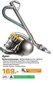 [lokal Friedberg/Bayern] Dyson DC 33c plus Staubsauger