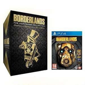 [amazon.fr] Borderlands: The Handsome Collection (PS4/Xbox One) + Claptrap-In-A-Box Gentleman Edition
