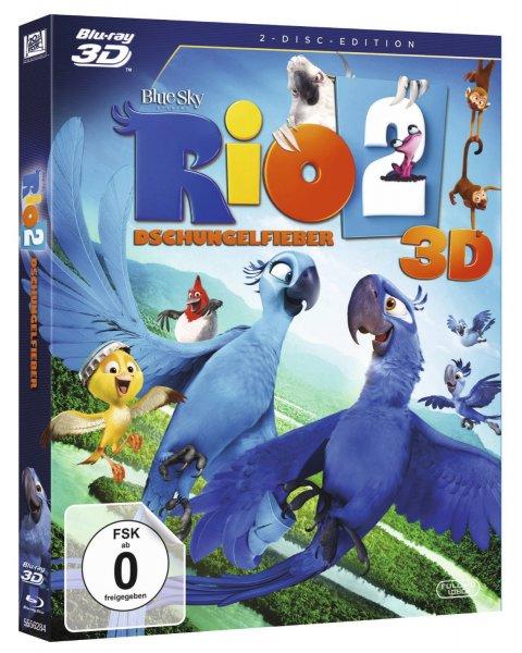 (Mediamarkt.de) Diverse 3D Blu-Rays für 12,90 EUR (z.B. Predator, X-Men: Zukunft ist Vergangenheit, Rio 2)