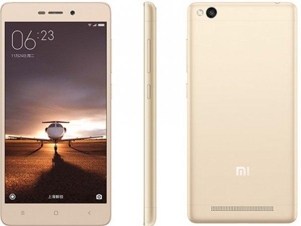 [China] Xiaomi Redmi 3 in gold für 132,98€ inkl. EUSt   5 Zoll 720p   4100mAh Akku   Dual Sim (Combi Slot)  13/5MP Kamera