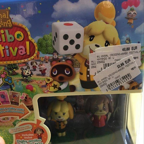 Amiibo Festival für Wii u im Nova Eventis Center (Media Markt )