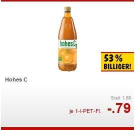 [Lokal Augsburg Lechhausen] Kaufland: Hohes C für 0,79 EUR - Milka 100g für 0,59 EUR