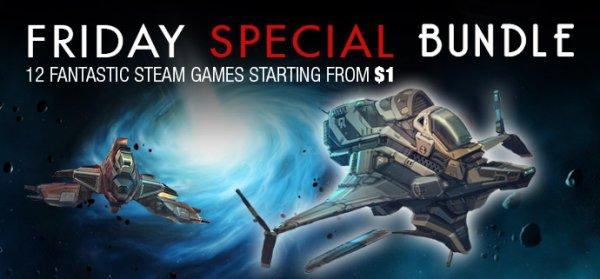 [Steam] Friday Special Bundle #29 (bis zu 11 Spiele, davon 7 mit Sammelkarten) ab 0,91€ @ indiegala
