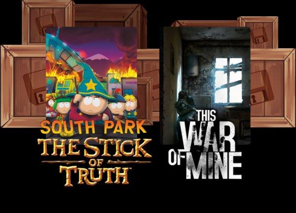 [Humble Monthly Bundle] South Park: Der Stab der Wahrheit & This War of Mine für 12$