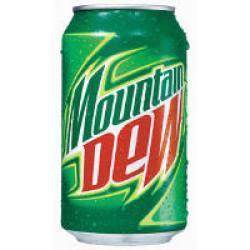 USA Kult Getränk: 72 Dosen Mountain Dew (je 0,33L)