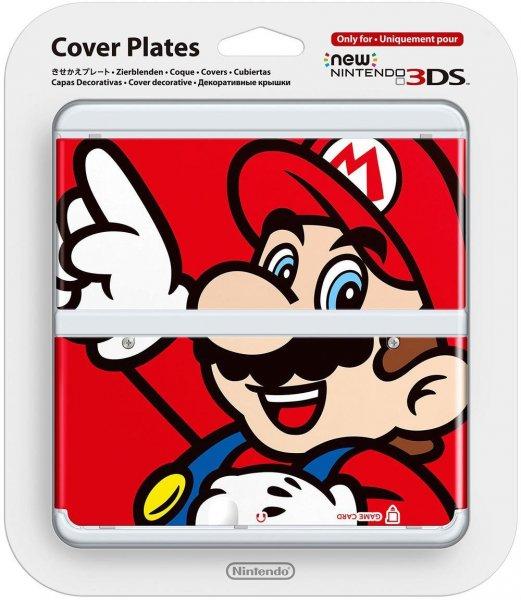 [Amazon.de WHD] New Nintendo 3DS Zierblenden Mario / Splatoon / 1-Up-Pilz für knapp 4€ als Primemitglied / sonst zzgl. 3€ Versand