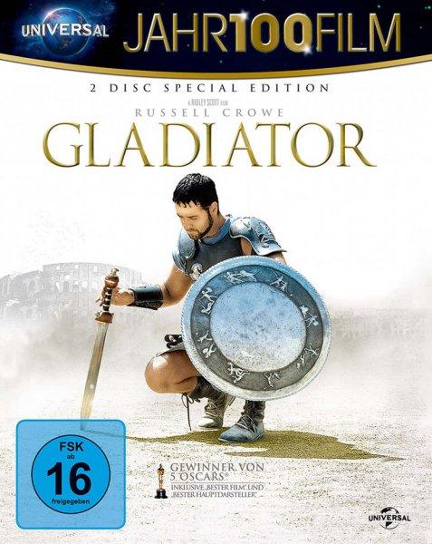 [Mediadealer] Gladiator - 10th Anniversary Edition / Jahr100Film (Blu-ray) für 6,53€ inkl Versand
