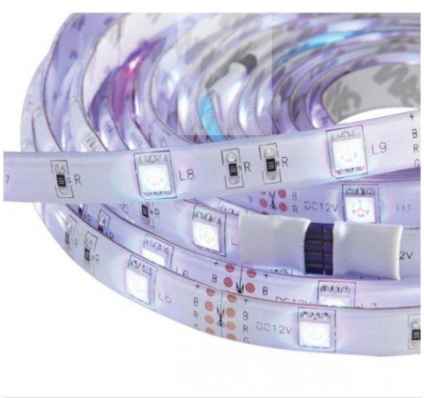 [xxxlshop] 5m LED Strip mit Fernbedienung und Farbwechsel