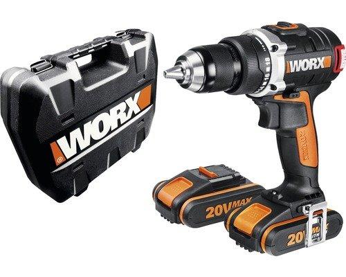 (Hornbach Online) Akku-Bohrschrauber Worx 20 V Li (2 Ah) WX 175 mit 2 Akku inkl. Bit