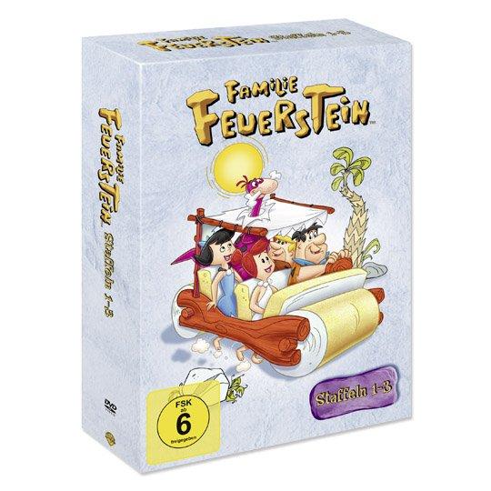 [Real] Familie Feuerstein / Flintstones - Staffel 1-3 (2234 Minuten auf DVD) für 14,99€