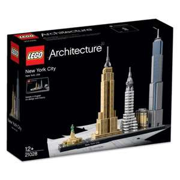 Lego Architecture 21028 New York City für 34,95€ dank Gutschein I Real.de