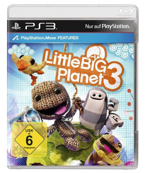 [hitseller] PS3 Little Big Planet 3 für 5,- Euro inkl. Versand