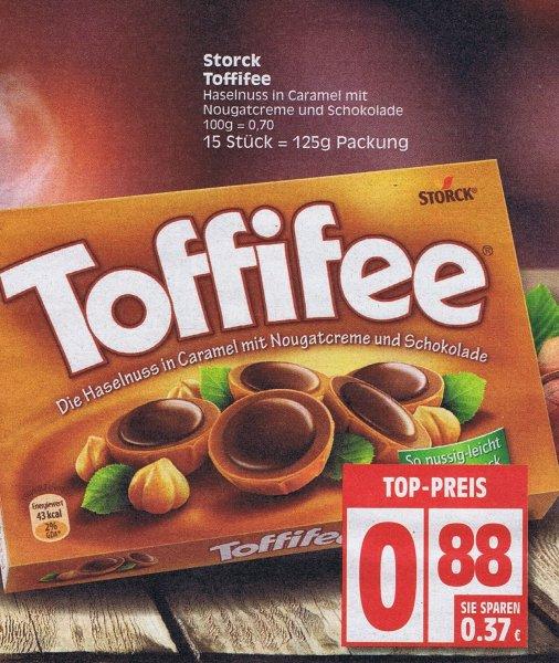 [EDEKA] Storck TOFFIFEE  15 Stück 125 g  für 0,88 € / mit reebate nur 0,38€