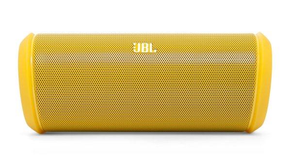 [Saturn.de] JBL FLIP II, Bluetooth Lautspecher, NFC, Ausgangsleistung 12 Watt, Gelb für 52 € (mit NL-Gutschein, VSK-frei)