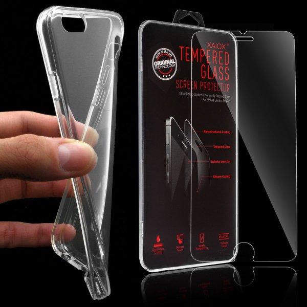 [ebay] Handyhülle Schutz Hülle ( Silikon Bumper ) + PANZER GLAS Folie ( nur noch sam s6 )