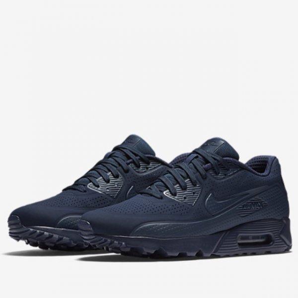[outlet46.de] Nike Air Max 90 Ultra Moire Blau oder Rot Größe 38,5-46