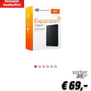 Seagate Expansion Portable 2TB 2.5 Zoll