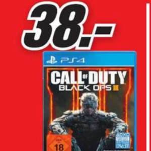 [Lokal Media Markt Eschweiler] PS4- Call of Duty Black OPs 3 für 38€