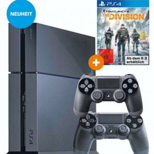 [Lokal Saturn Aachen] PlayStation 4, 1TB + 2 Controller + The Division= 399€