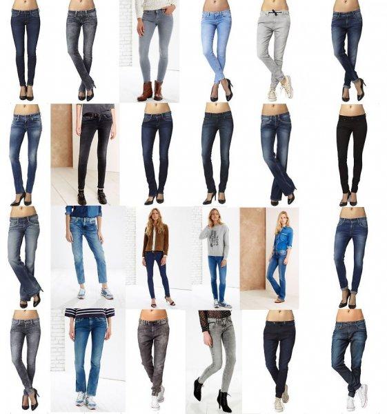 Pepe Jeans DAMEN über 40 Jeansmodelle ab 34€ / 60% Rabatt / Versandkostenfrei @ebay-Store , Rücksendung Kostenlos