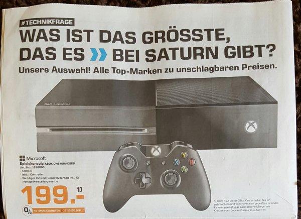 Xbox one 500GB Saturn Bremen