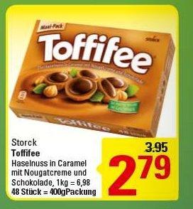 [Marktkauf]  Storck Toffifee 400gr 48 Stück  für 2,79€ / mit reebate nur 2,29€