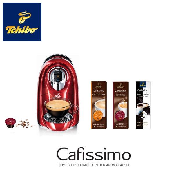 Tchibo Cafissimo COMPACT Kaffeemaschine EOL-Edition mit 40 Monaten Garantie inkl. 30 Kapseln für 33,33 Euro @eBay