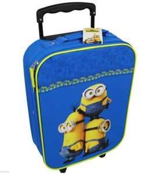 Kinderkoffer z.B: Minions oder Frozen
